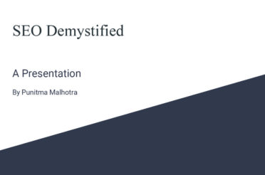 SEO Overview For Beginner [PowerPoint Presentation]