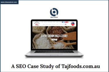 SEO Case Study Of Tajfoods.com.au [PowerPoint Presentation]