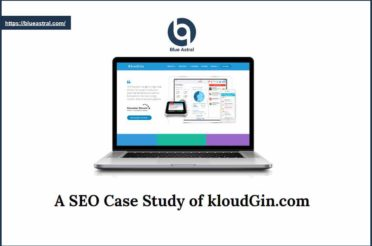 SEO Case Study Of KloudGin.com [PowerPoint Presentation]