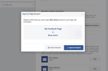 How to Accept Facebook Page Access Requests