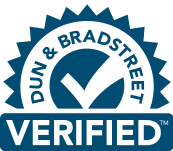 Dun and Bradstreet verified seal for Blueastral