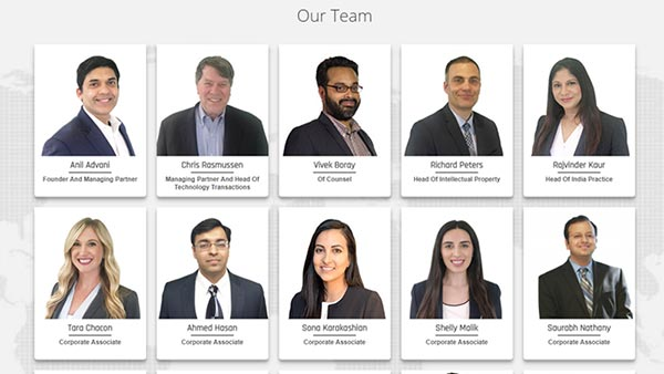 Inventus law Team