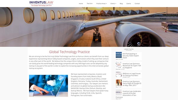 Inventus law blogs