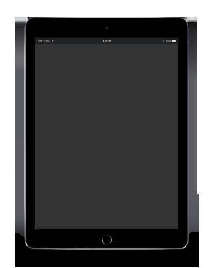 iPad dark